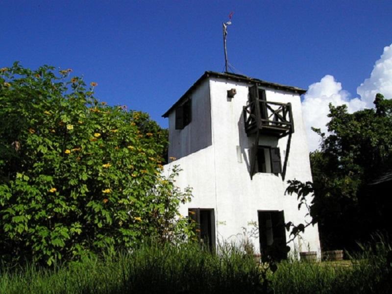 Barbados grenade hall signal station