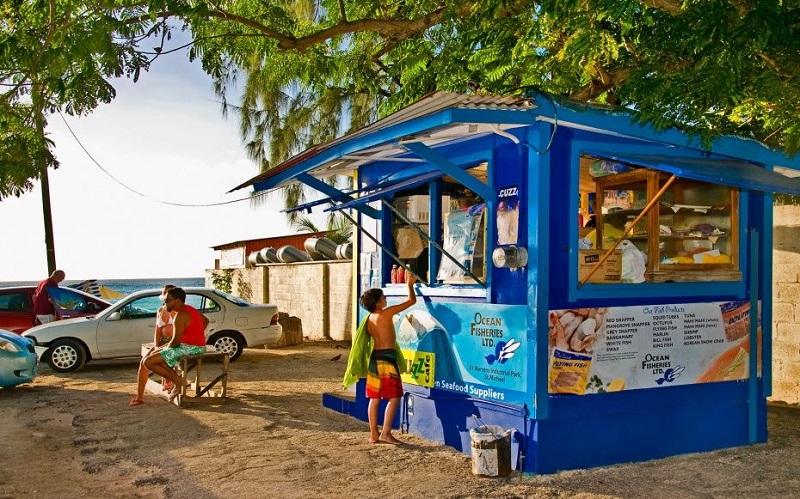 Barbados Dover Beach Cuisine