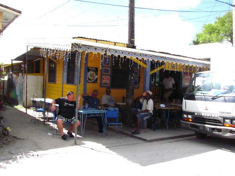 barbados Holetown local shop