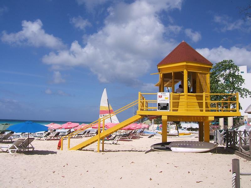Barbados Dover Beach Lifegurad