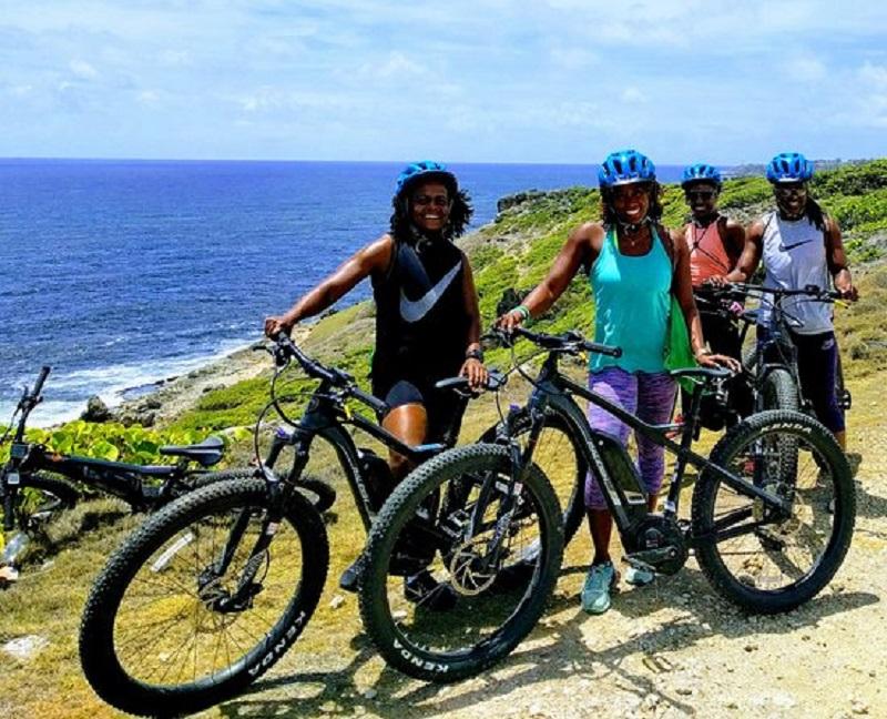 Barbados bike hiking