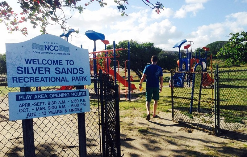 Barbados silver sands play park