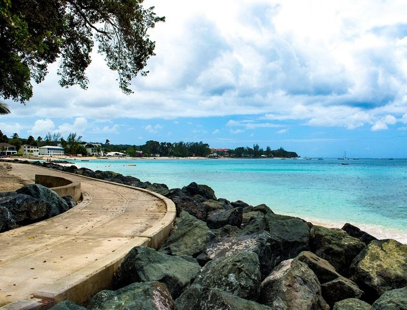 Barbados Folkstone Boardwalk