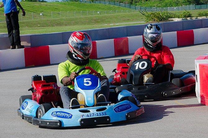 Barbados go karting