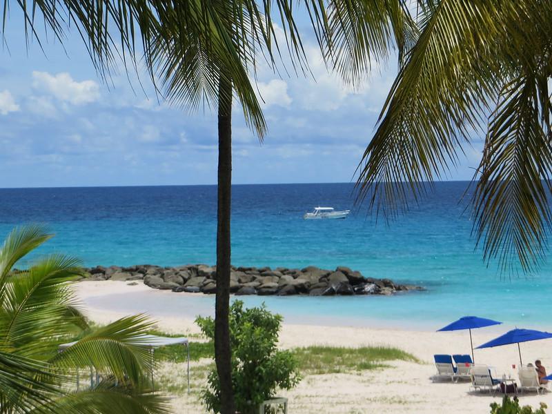 Barbados Hilton beach area