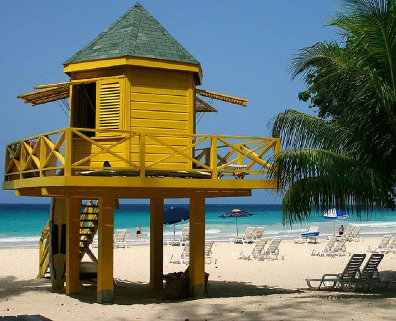 Barbados Lifeguard Hut