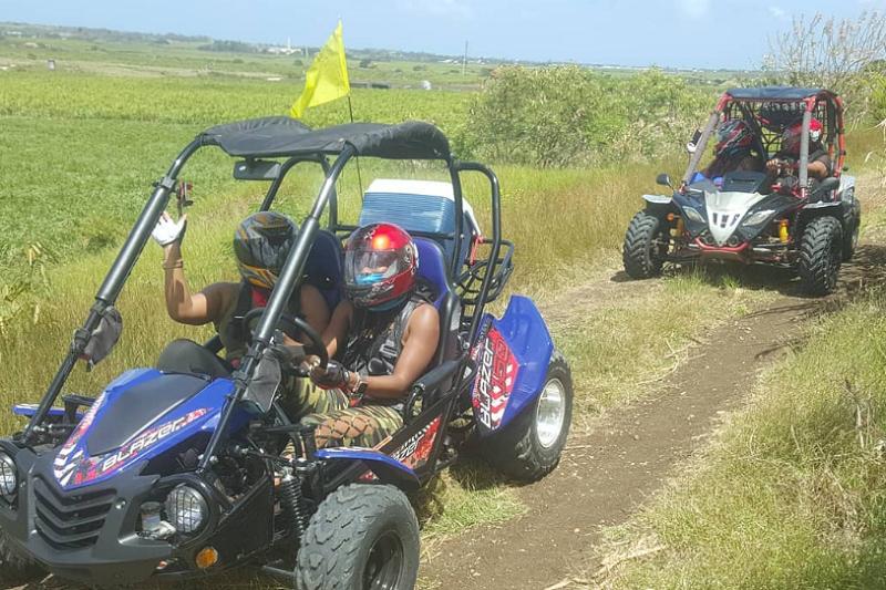 Barbados Off Road Fury backroads