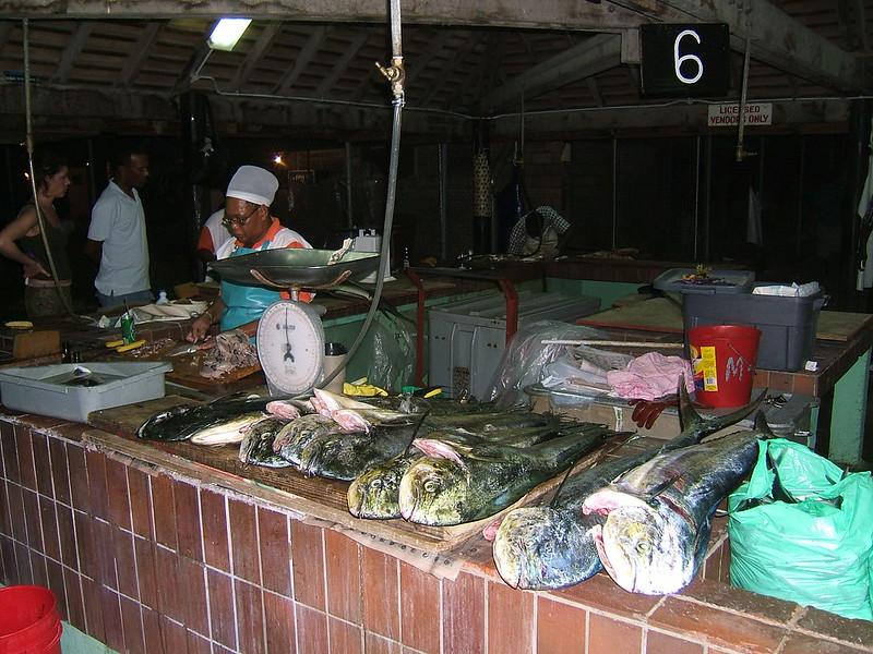 Barbados Oistins Fish Market