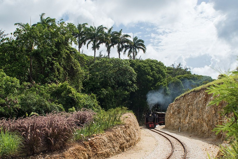 Barbados Heritage Railway Train