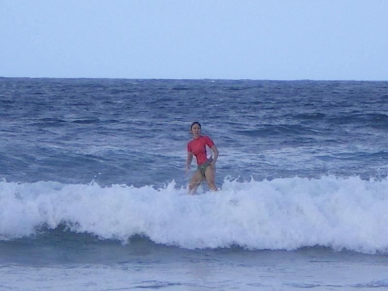 Barbados Bathsheba surfing