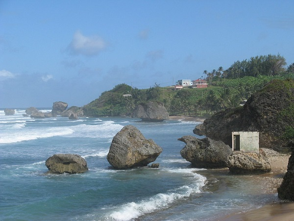 Barbados Surfing Beach Bathsheba