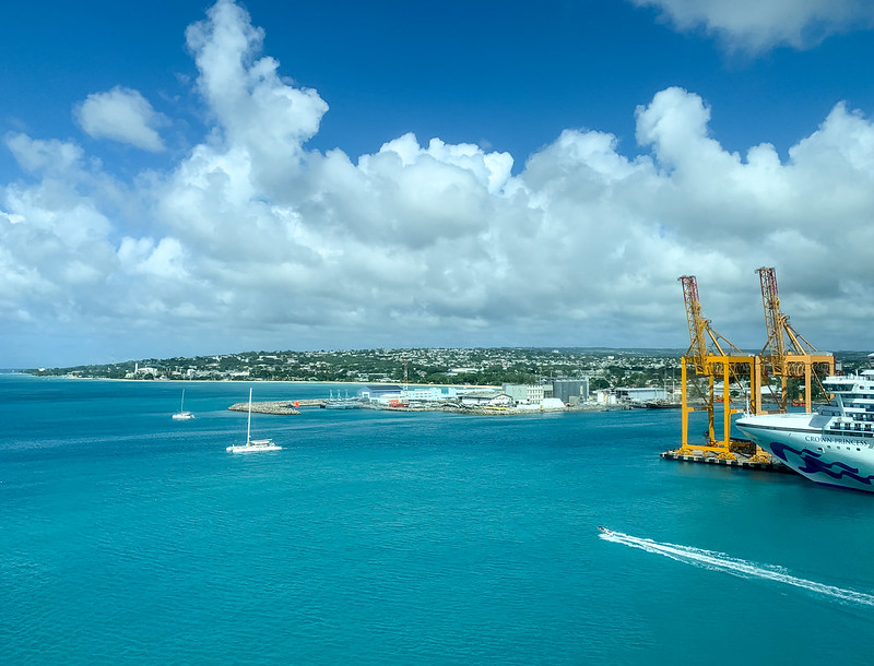 Barbados catamaran
