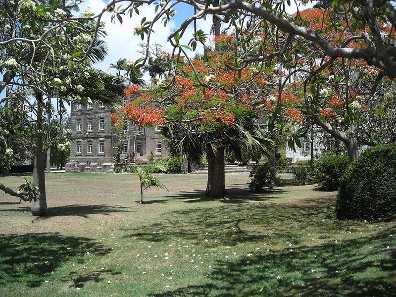 Barbados Codrington College grounds
