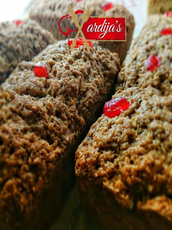 Xardija's Bajan Coconut Sweet Bread